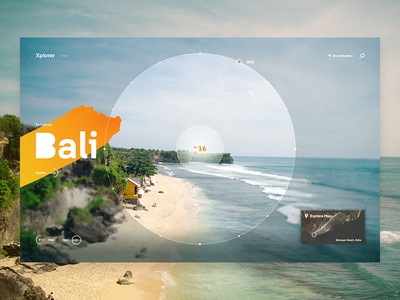Xplorer - travel experience design experiences travel world typography ui ux web website