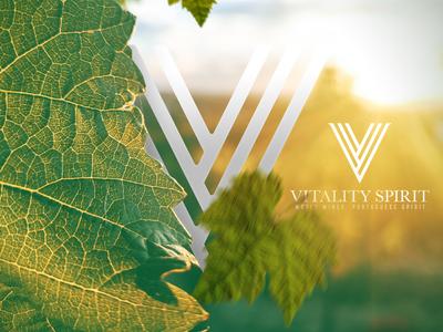 Vitality - Promo symbol wines mark logo branding brand identity brand