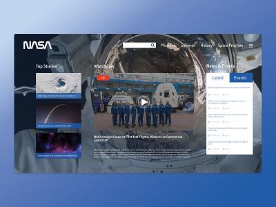 Nasa Concept 1 design inspiration uiux design illustration uiux webdesing
