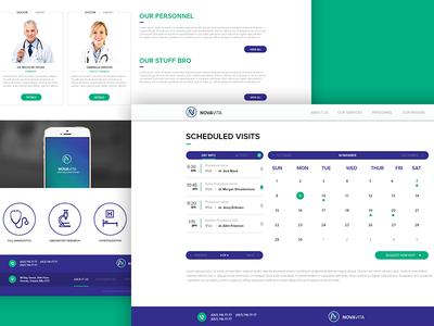 Patient portal on clinic's website