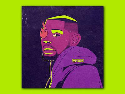 Trevor Jackson hip-hop hiphop urban art urban portrait art portrait poster design album cover design cover design album artwork album cover poster