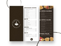 Le Petit comptoir - Coffeshop Menu