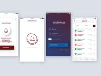 Jokerpass - Payment App UI