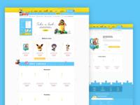 Pandatoys - Toys E-commerce design concept