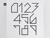 Numerals - Branding Typography