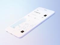 Powder iPhone 6 Mockup interface ui mobile skurt los angeles render 3d iphone location map mockup c4d