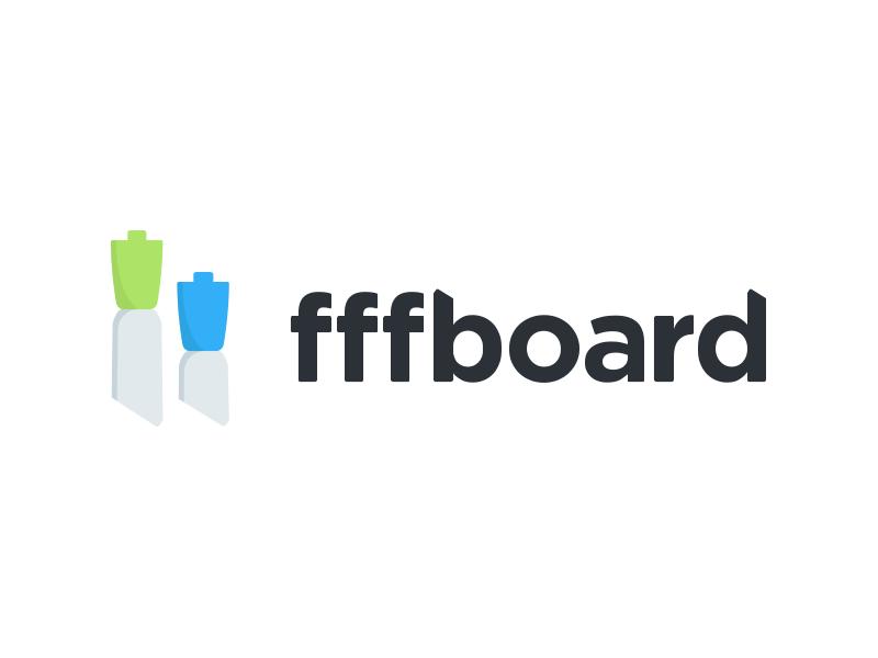 "It's pronounced ""whiteboard"" logo branding whiteboard marker dry erase sketch wireframe"