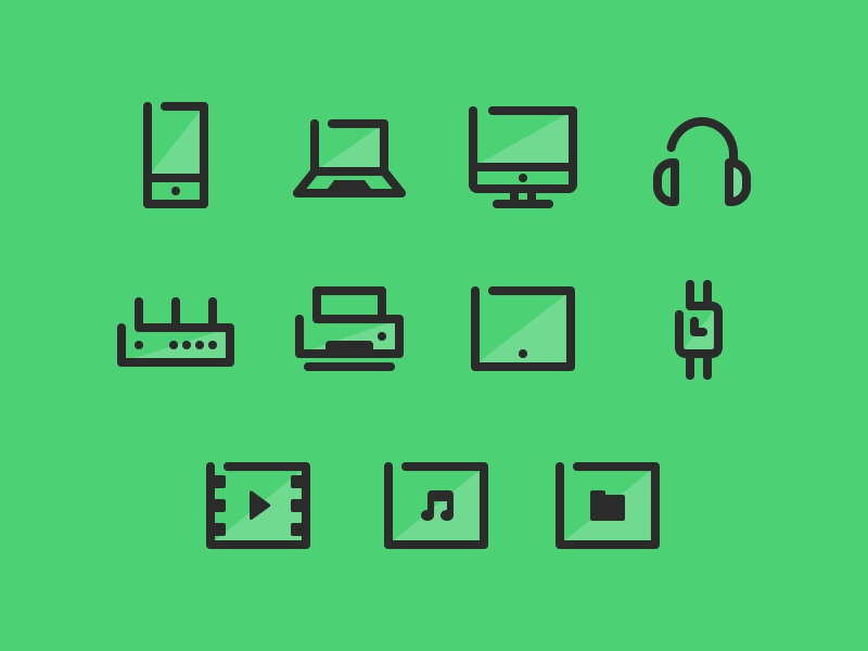 Unused Icons icons iconography ui devices mobile laptop wearable line simple