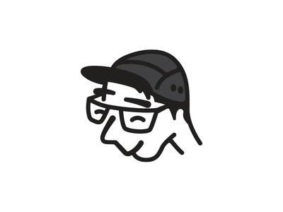 Weird Selfie illustration line art selfie avatar portfolio turtle stop being lazy
