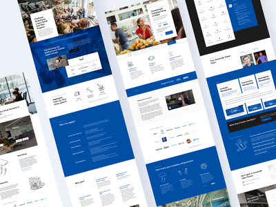 Astrolabs Responsive Web Design design mobile layout design blue and white blue coworking space responsive web design responsive website responsive design responsive web ux ui