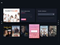 Daily UI #025 TV App