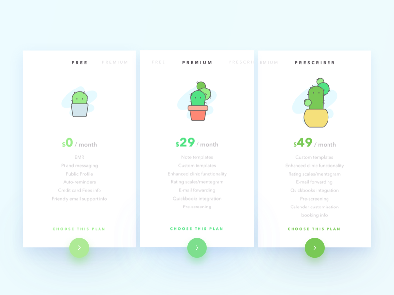 Daily UI #030 Pricing
