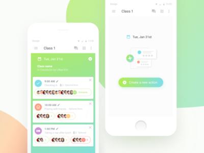 Daycare teacher app exploration