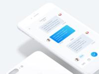 Chat Design for Job Finder App