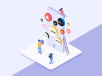 Illustration for Shopping app