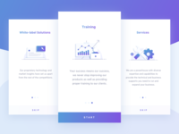 Onboarding for trading app