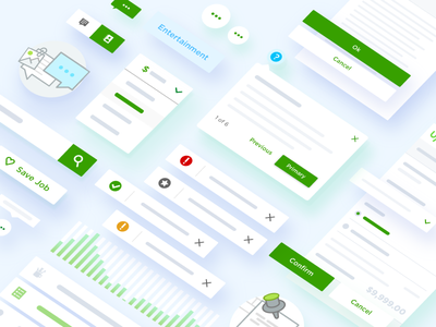 Upwork Components Library ux ui app mobile web elements library components upwork