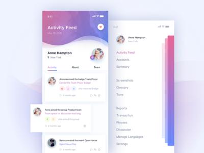 Daily UI #047 Activity Feed