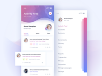 Daily UI #047 Activity Feed