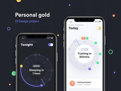 Personal Gold: UI Design Case Study