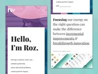 Give your portfolio site some love