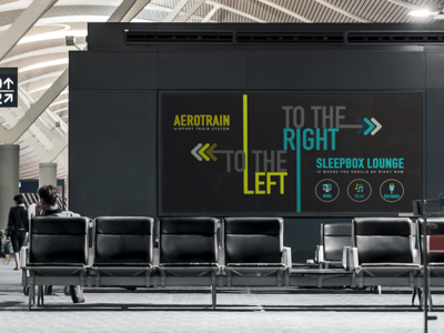 Airport Ad for Sleepbox