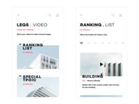 Design Life Video App UI Design-1