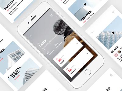 Design Life Video App UI Design-2 video ui personal life iphone ios illustration icon app