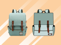 Bag pack icon