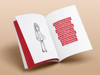Division Model Management Book Design