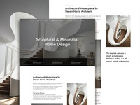 Architecture Studio Website Concept