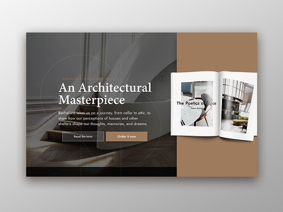 Architecture Book Landing Page magazine layout architectural design landing page design landing page dailyui 003 dailyui003 dailyui architecture art direction user experience user interface luxury brand minimalist app design web design invision studio