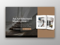 Architecture Book Landing Page