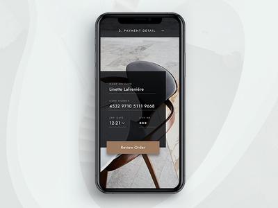 Architecture Studio Checkout Page dailyui architecture art direction user experience user interface luxury brand minimalist app design web design invision studio dailyui 002 002 credit card credit card checkout checkout page