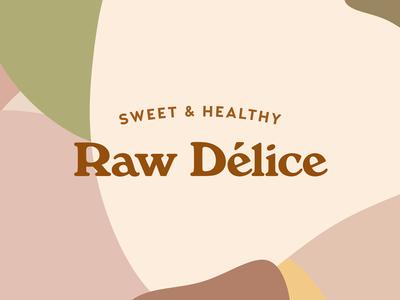 Raw Vegan Bakery Rebranding art direction classic logo brand design bakery raw vegan branding