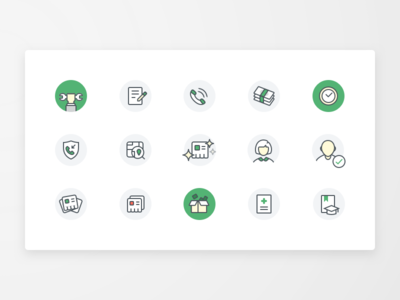 DomClick - Icon Set