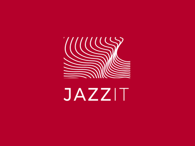 JazzIT brand design logotype logo
