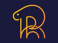 R Ram Monoline Logotype