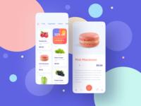 Foodstuffs Shopping Mobile App Freebie 🍑