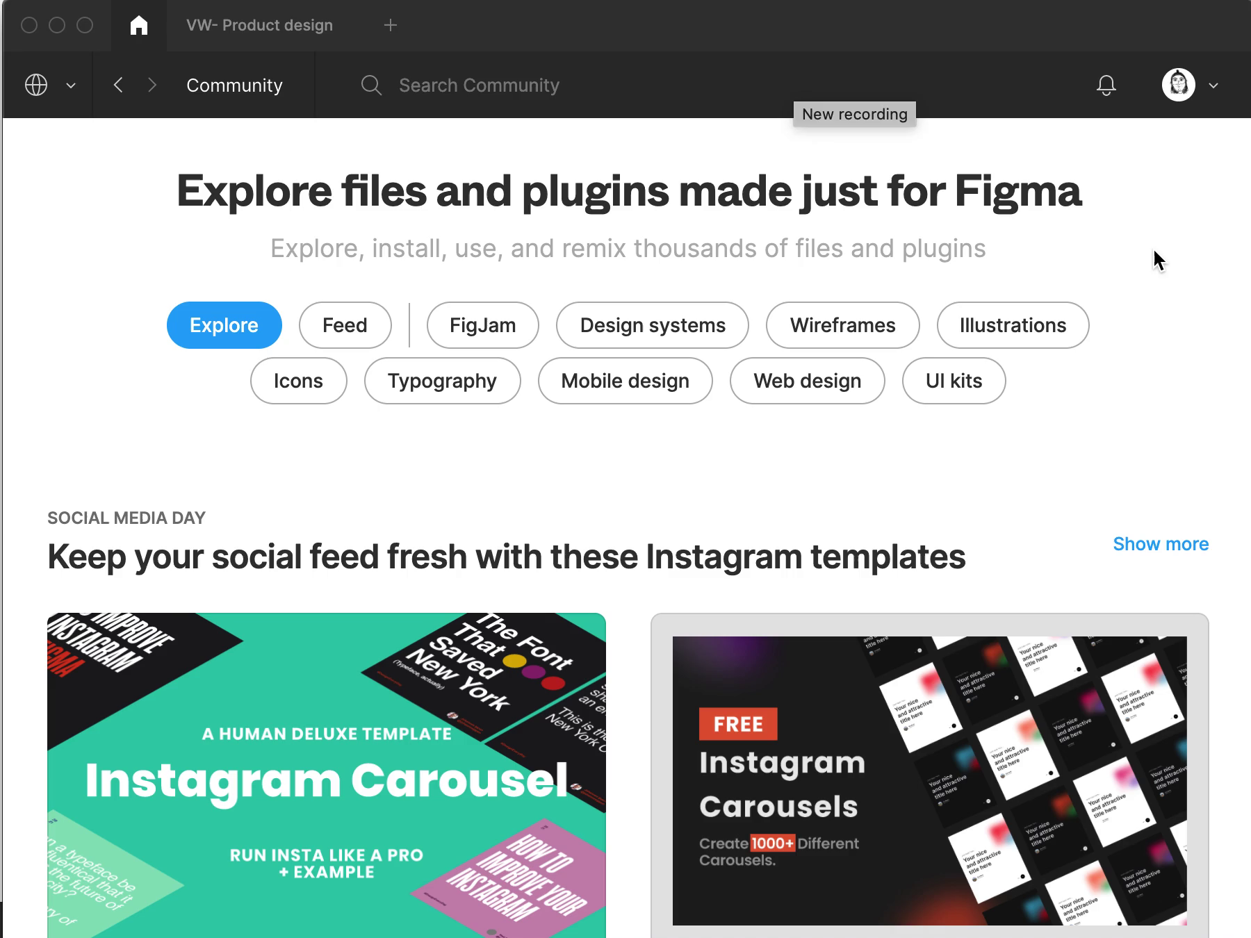 Nice people - free library of characters on Figma