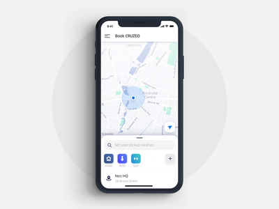 Ridesharing DApp after effects ae interface map card route tip rating mobile app ui ux design animation motion gif ios iphone x iphonex interface clean white blue green ridesharing uber dapp blockchain decentralized