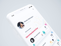 Gift-Giving App Animation white background clean style white color social network media animation motion gif after effects ae interface ios iphone x iphonex mobile app ui ux design pink purple blue green orange tree man house vacation glass color fluid selection list menu