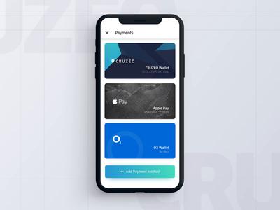 CRUZEO - wallet interaction