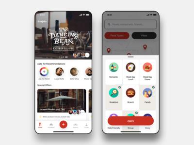 Gorjeta - Restaurant Finding App Project