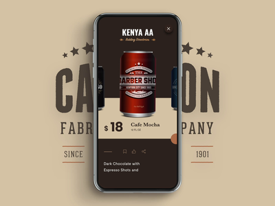 Select Drink Animation