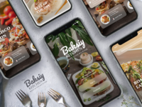 Food App Welcome Screens