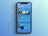 Diving App Animation