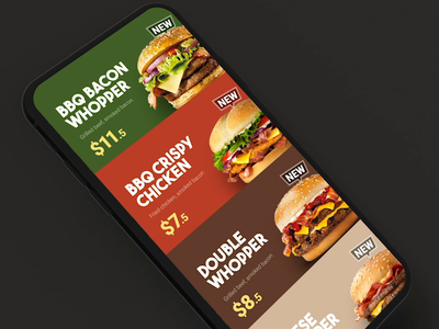 Burger menu scrolling and transitions