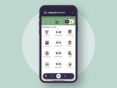 Soccer league mobile app animation football soccer mobile app animation
