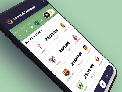 Soccer App sport motion ui interface soccer football animation app mobile